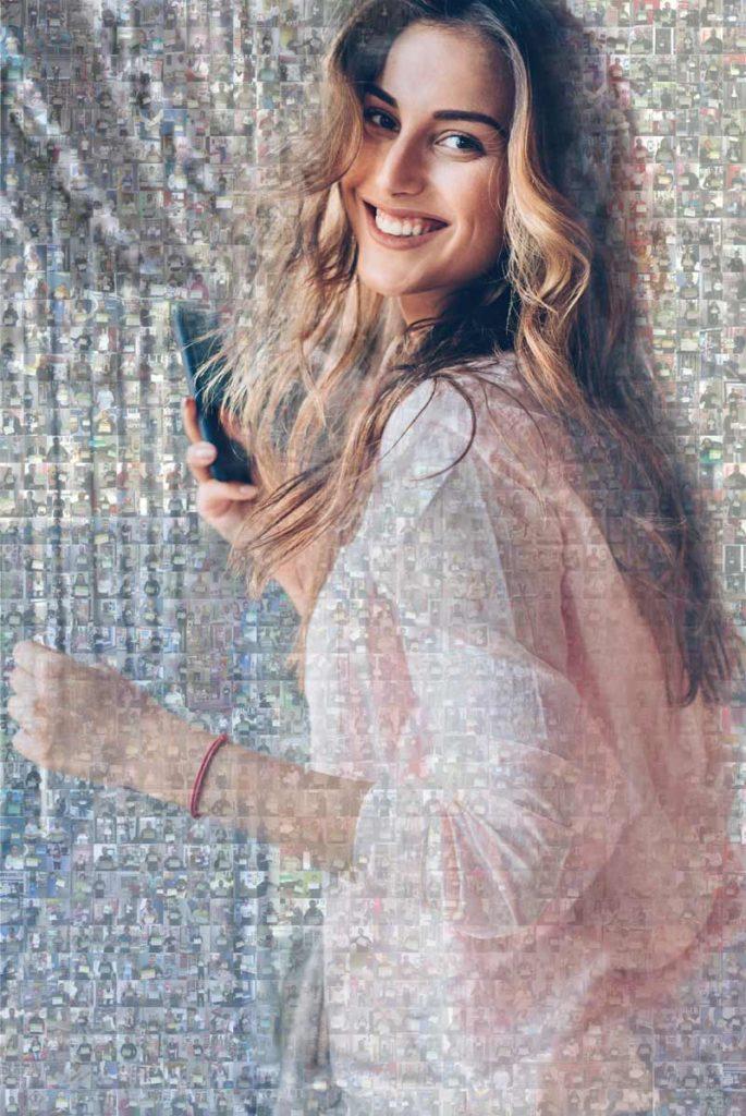 Foto-Mosaic dank UGC für HTC