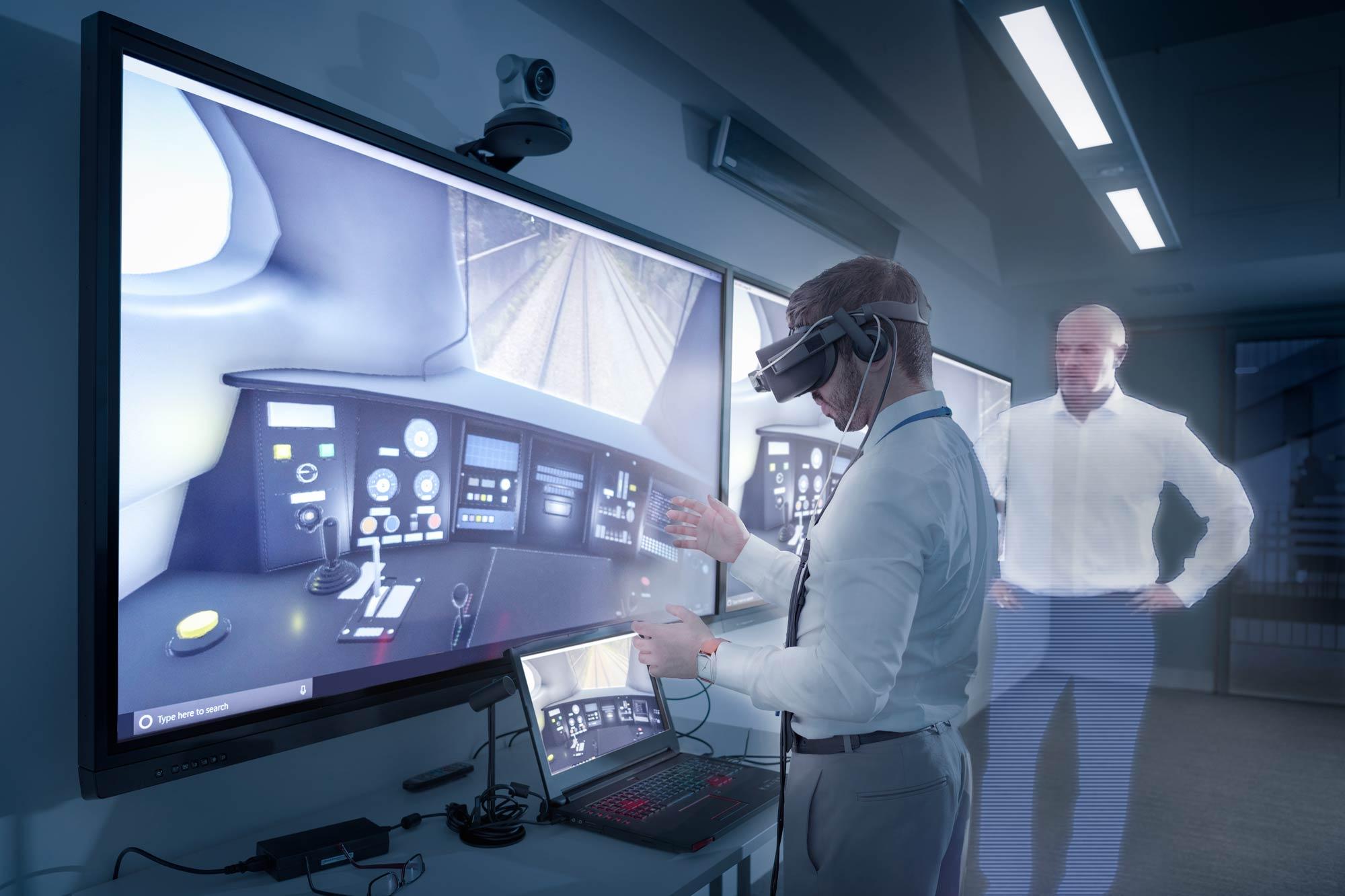 VR-Mitarbeiterschulung