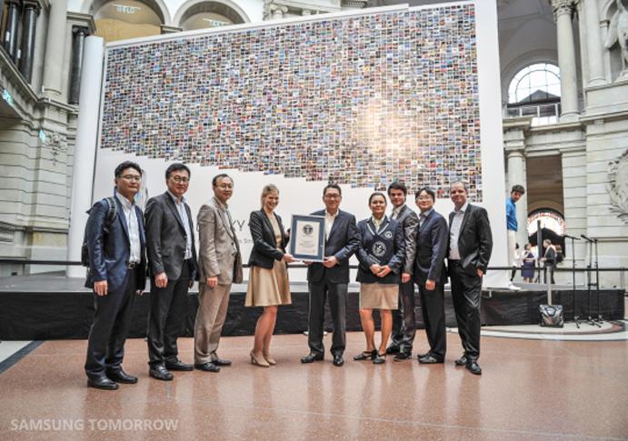 Samsung Weltrekord mit UGC